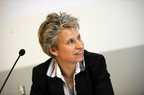 Ulrike Langer auf den Medientagen München 2010